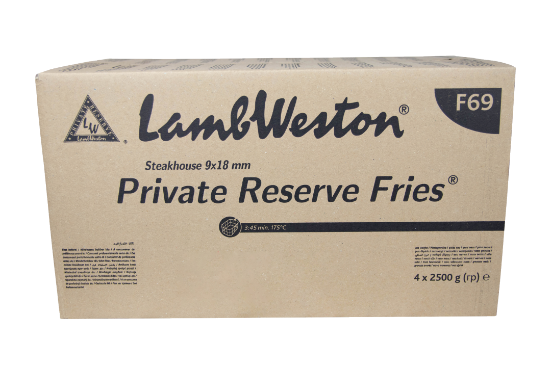 Lamb Weston Steakhouse Frites 9x18mm